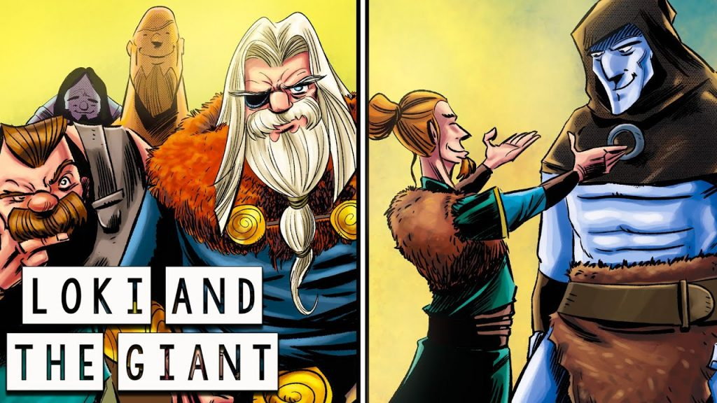 Loki and the Giant: The Construction of the Asgard wall - Norse Mythology - See U in History