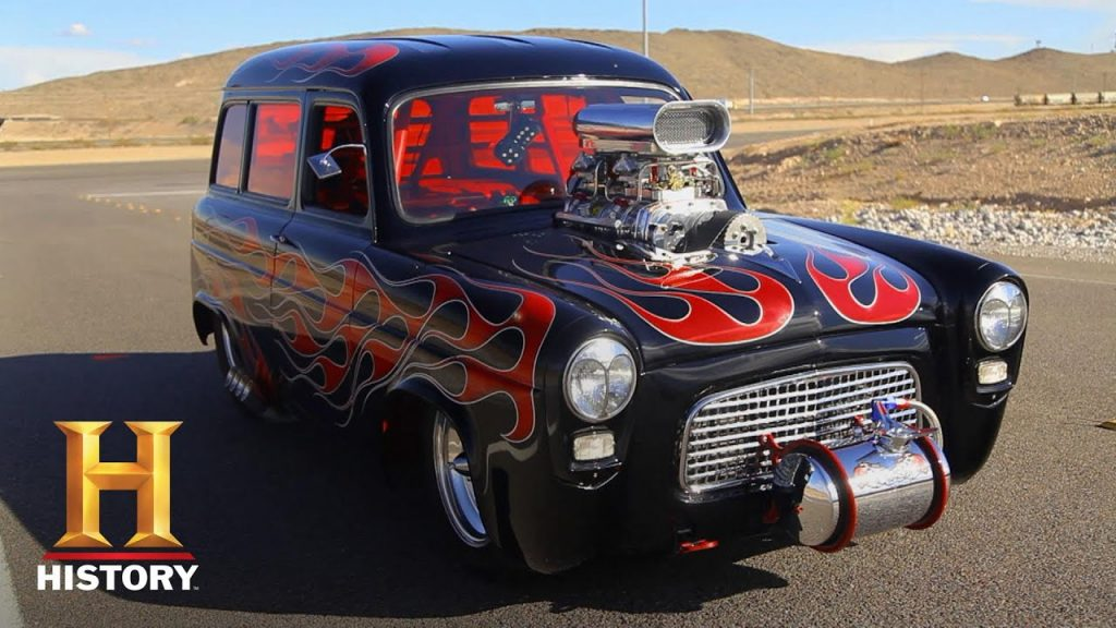 Counting Cars: Bone-Chilling '58 Ford Anglia is a MUST SEE CAR (Season 4)   History