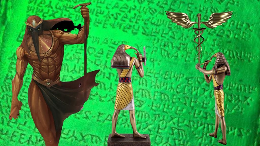 Thoth the Hermes of Egypt, The Atlantean God who Became the Biblical Enoch