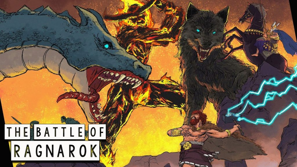 The Great Battle of Ragnarok - The Twilight of the Gods  - Norse Mythology in Comics - Part 2