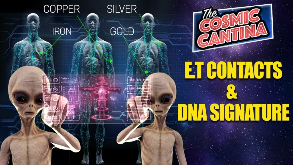 GOLD, SILVER, COPPER, and IRON May Be Linked to Alien Abductions & Contacts