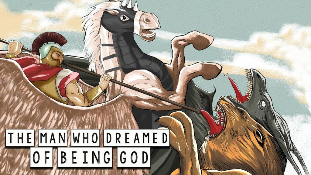 The Man Who Dreamed of Being God (Bellerophon and Pegasus) - Greek Mythology in Comics