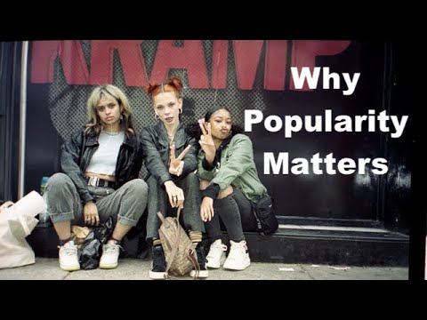 WHY DO PEOPLE CARE ABOUT BEING POPULAR?