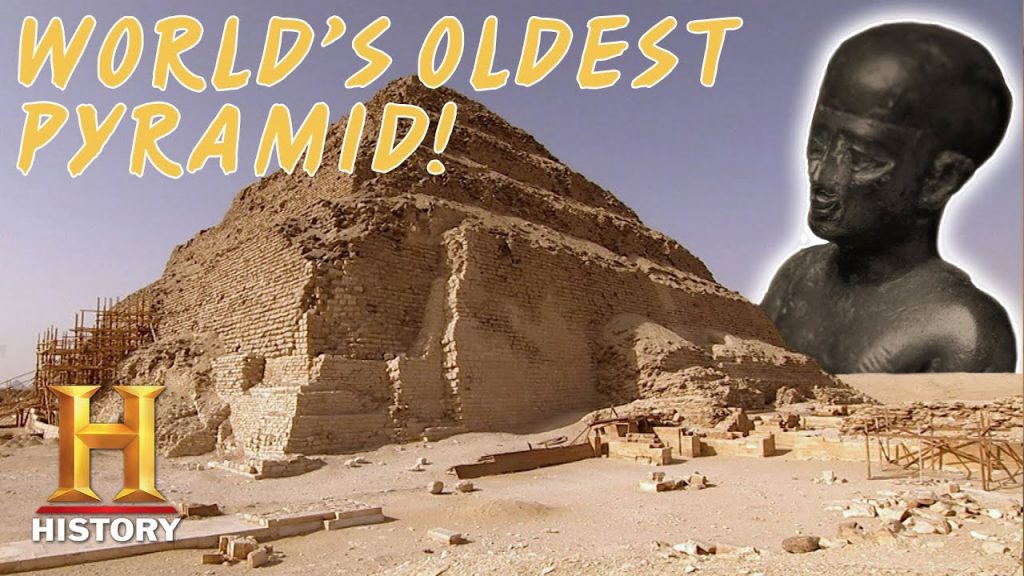 VENTURE INSIDE THE MYSTERIOUS STEP PYRAMID | Secrets of Ancient Egypt | History