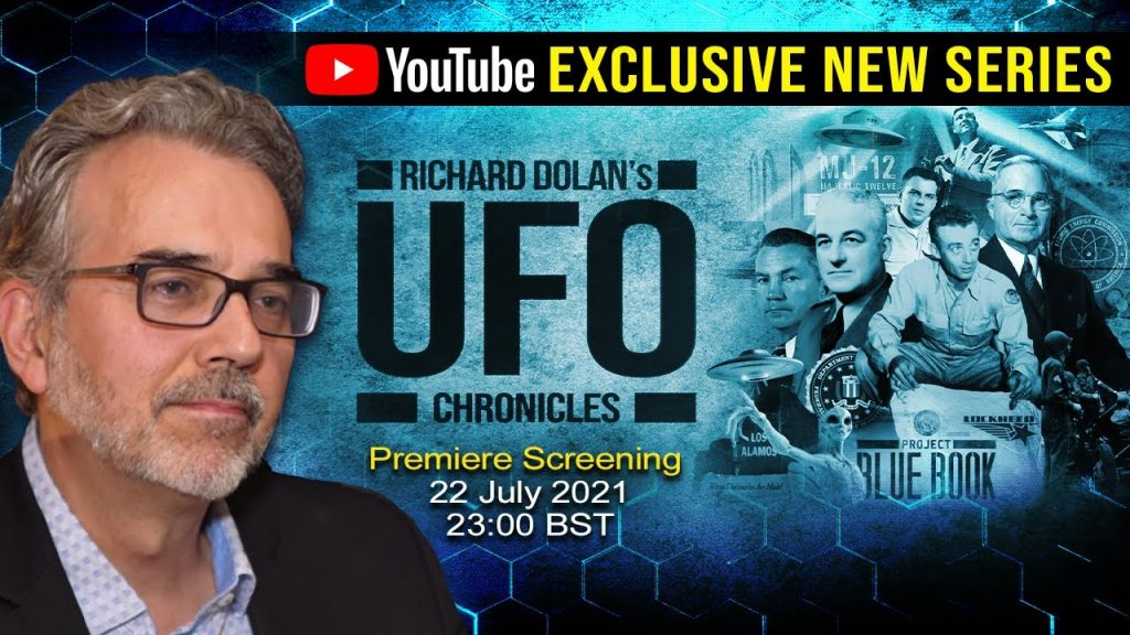 Announcing BRAND NEW Richard Dolan's UFO Chronicles TV Series – Official Promo Trailer